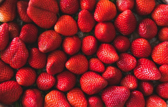Strawberries Background Picjumbo Com